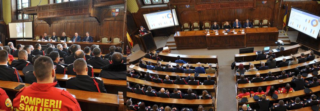 Prezentarea Evaluării Activității ISU Mureș în anul 2019