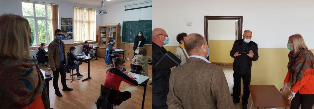 Prefectul Mara Togănel, vizite de lucru în școlile din județul Mureș