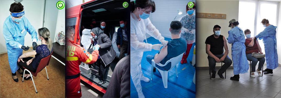 Caravana vaccinării în mediul rural, la start în județul Mureș